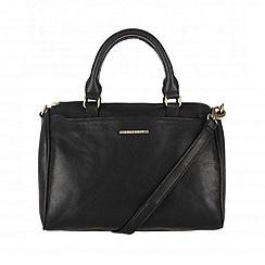 Cultured London - Black 'Katie' across body handbag