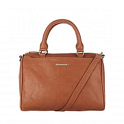 Cultured London - Tan 'Katie' cross-body handbag