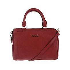 Cultured London - Red 'Katie' cross-body handbag