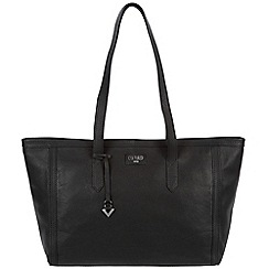 Cultured London - Black 'Ferne' soft leather hand bag