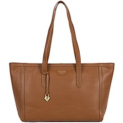 Cultured London - Tan 'Ferne' soft leather hand bag