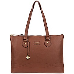 Cultured London - Brown 'Ivy' soft leather large bag
