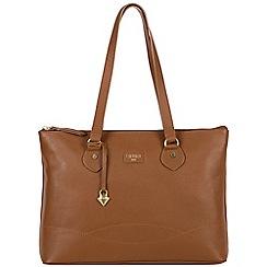 Cultured London - Tan 'Ivy' soft leather large bag