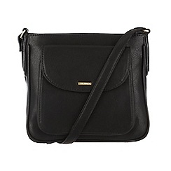 Cultured London - Black 'Carli' small across body bag