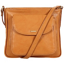 Cultured London - Honey 'Carli' cross-body bag