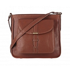 Cultured London - Nut 'Carli' small across body bag