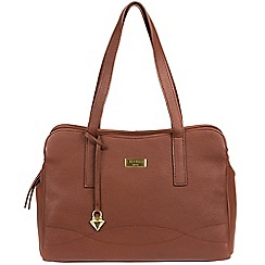 Cultured London - Brown 'Lorin' soft leather handbag
