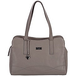 Cultured London - Dark grey 'Lorin' soft leather handbag