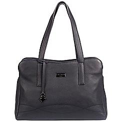 Cultured London - Navy 'Lorin' soft leather handbag