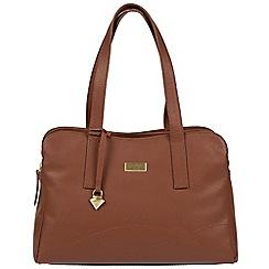 Cultured London - Sienna Brown 'Lorin' soft leather handbag