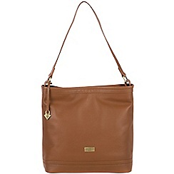 Cultured London - Tan 'Neesa' soft leather bag