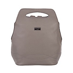 Cultured London - Dark Grey 'Paige' soft leather backpack