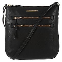 Cultured London - Black 'Demi' small cross-body bag