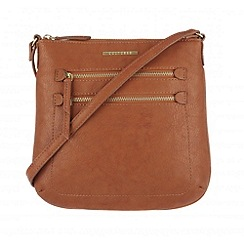 Cultured London - Tan 'Demi' small across body bag