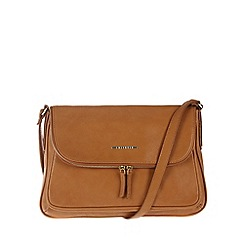 Cultured London - Honey 'Emeli' cross-body bag