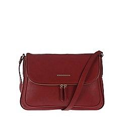 Cultured London - Red 'Emeli' cross-body bag