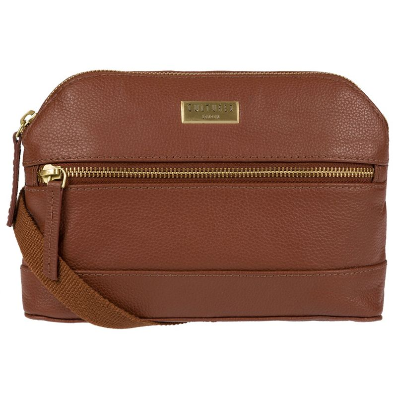 Cultured London - Sienna Brown Parma Small Leather