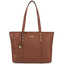 Cultured London - Sienna brown 'Tessa' leather bag