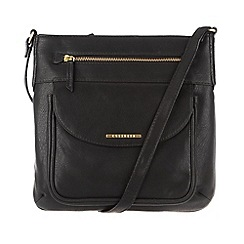 Cultured London - Black 'Alicia' cross-body bag