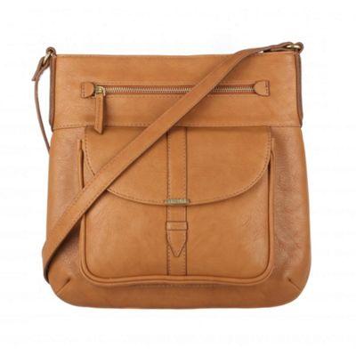 Cultured London Oak ´Alicia´ across body bag - . -