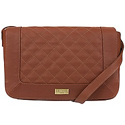 Cultured London - Sienna Brown 'Macey' natural leather bag