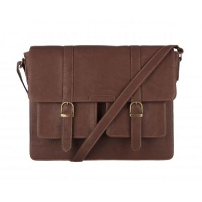 Cultured London Brown ´Tommy´ satchel - . -