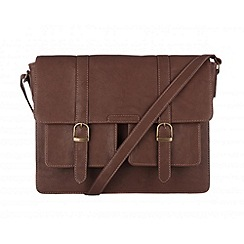 Cultured London - Brown 'Tommy' satchel