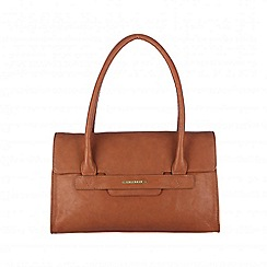 Cultured London - Tan 'Ellie' cotton-lined hand bag
