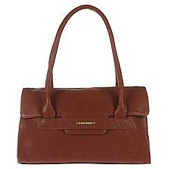 Cultured London - Nut brown 'Ellie' hand bag
