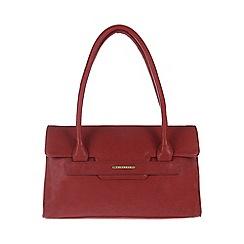 Cultured London - Red 'Ellie' hand bag