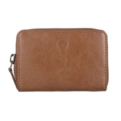 Conkca London Chestnut ´Appleby´ veg-tanned leather card holder - . -