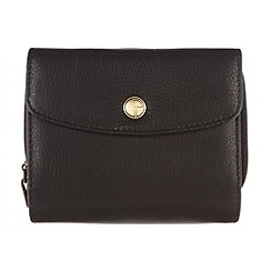 Pure Luxuries London - Black 'Chester' natural leather purse