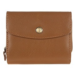 Pure Luxuries London - Oak 'Chester' natural leather purse