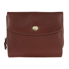 Pure Luxuries London - Whiskey 'Chester' natural leather purse