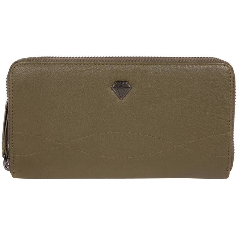 Cultured London Olive 'Banbury' zip-round leather purse - MISC - Purses (P5056032744875) photo