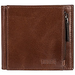 Cultured London - Brown 'Cardinal' fine leather RFID wallet