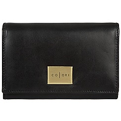 Pure Luxuries London - Black 'Capri' Italian-inspired leather RFID purse