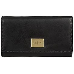 Pure Luxuries London - Black 'Perugia' Italian-inspired leather RFID purse
