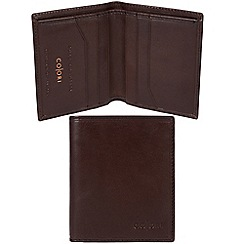 Pure Luxuries London - Brown 'Potenza' Italian-inspired leather RFID wallet