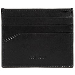 Pure Luxuries London - Black 'Trento' Italian-inspired leather RFID card carrier