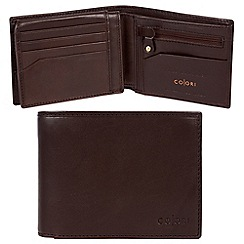 Pure Luxuries London - Brown 'Modena' Italian-inspired leather RFID wallet