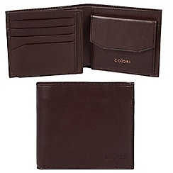 Pure Luxuries London - Brown 'Bolzano' Italian-inspired leather RFID wallet