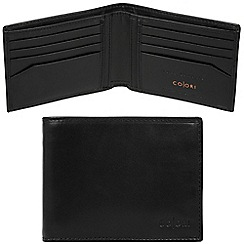 Pure Luxuries London - Black 'Forli' Italian-inspired leather RFID wallet