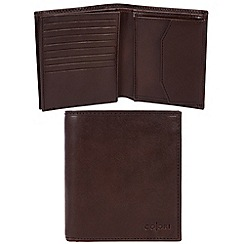 Pure Luxuries London - Brown 'Taranto' Italian-inspired leather RFID wallet