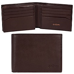 Pure Luxuries London - Brown 'Monza' Italian-inspired leather RIFD wallet