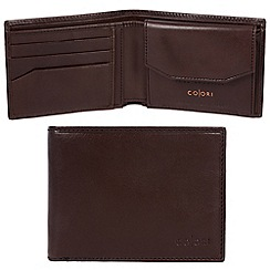 Pure Luxuries London - Brown 'Palermo' Italian-inspired leather RFID wallet