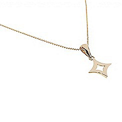 Pure Luxuries London - Gift packaged 9ct yellow gold star necklace