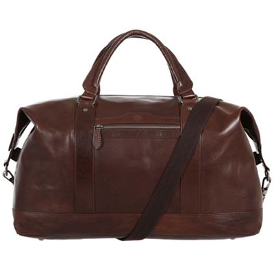 Conkca London Conker brown Monty handcrafted leather