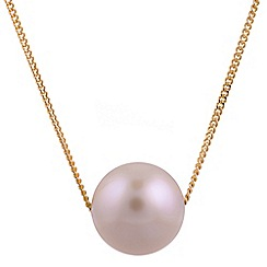 Pure Luxuries London - Gift packaged freshwater pearl and 9ct yellow gold necklace