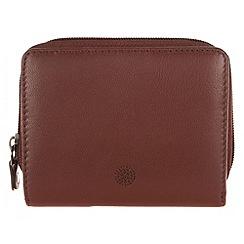 Conkca London - Whiskey 'Opal' nappa leather purse